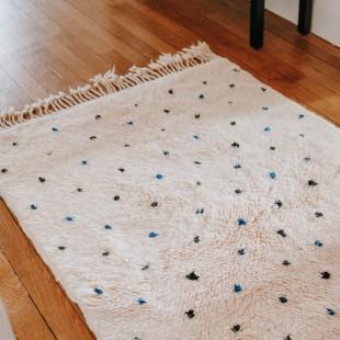 Tapis Mrirt 100% laine 145x100cm