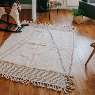 Tapis berbere pure laine 194x132cm