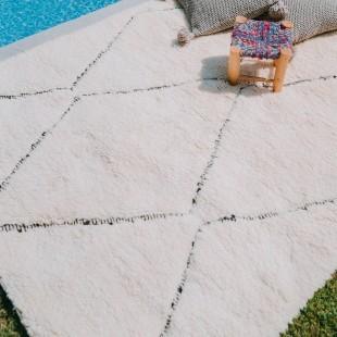 Tapis berbere pure laine 200x155cm